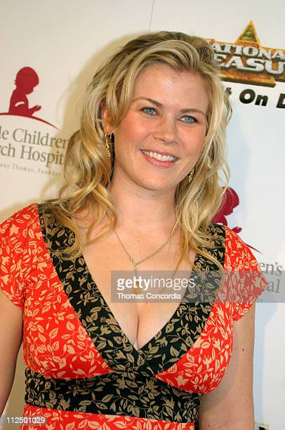 Alison Sweeney during 3rd Annual Runway For Life Benefiting St Jude Children's Research Hospital Red Carpet at Beverly Hilton in Beverly Hilton...