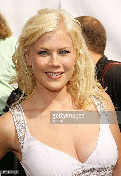 Alison Sweeney during 'Evan Almighty' World Premiere Presented by Universal Pictures at Universal Citywalk in Universal City California United States
