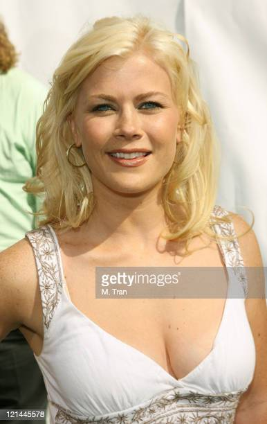 Alison Sweeney during Evan Almighty World Premiere Presented by Universal Pictures at Universal Citywalk in Universal City California United States