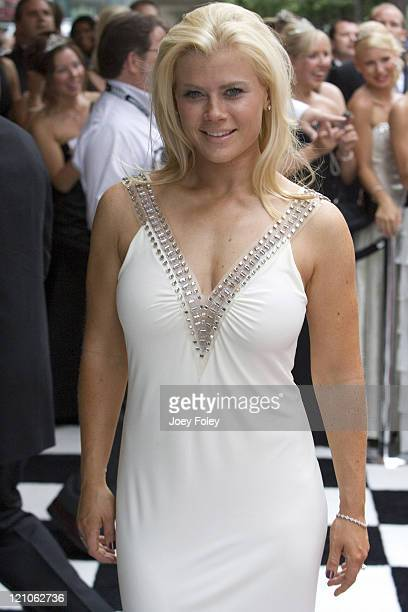 Alison Sweeney during Indianapolis 500 Snakepit Ball Arrivals at Downtown Indianapolis in Indianapolis Indiana United States