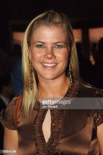 Alison Sweeney during 'Just Like Heaven' Los Angeles Premiere After Party in Los Angeles California United States