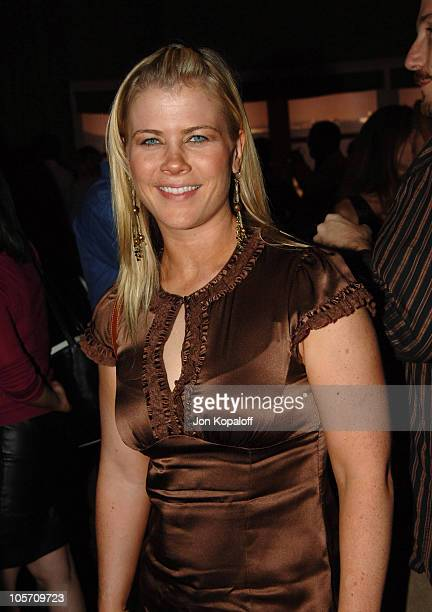 Alison Sweeney during Just Like Heaven Los Angeles Premiere After Party in Los Angeles California United States