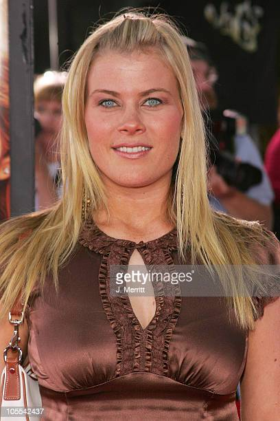 Alison Sweeney during Just Like Heaven Los Angeles Premiere Arrivals at Grauman's Chinese Theatre in Hollywood California United States