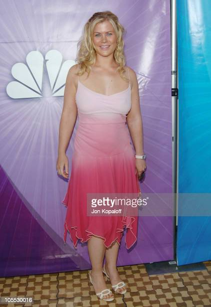 Alison Sweeney during Las Vegas TCA Cocktail Party Arrivals at The Beverly Hilton Hotel in Beverly Hills California United States