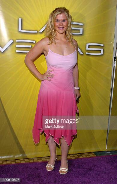 Alison Sweeney during NBC Cocktail Party for Las Vegas at TCA Arrivals at Beverly Hilton Hotel in Beverly Hills California United States