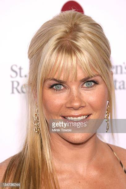 Alison Sweeney during Runway for Life Celebrity Fashion Show Benefiting St Jude Children's Research Hospital at Beverly Hilton Hotel in Beverly Hills...