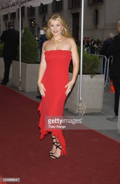 Alison Sweeney during The 29th Annual Daytime Emmy AwardsArrivals at Madison Square Garden in New York City New York United States