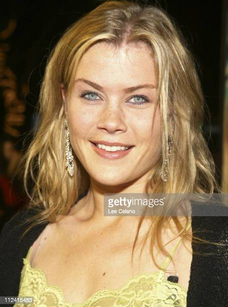 Alison Sweeney during The Big Bounce Los Angeles Premiere Red Carpet at Mann Village Westwood in Westwood California United States