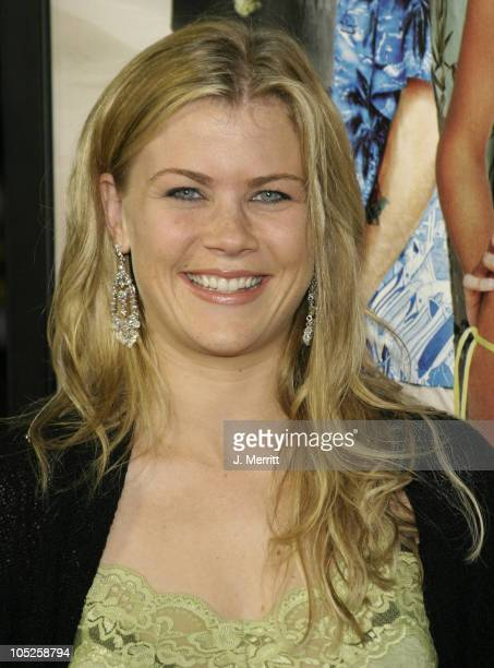 Alison Sweeney during The Big Bounce World Premiere at Mann Village Theatre in Westwood California United States