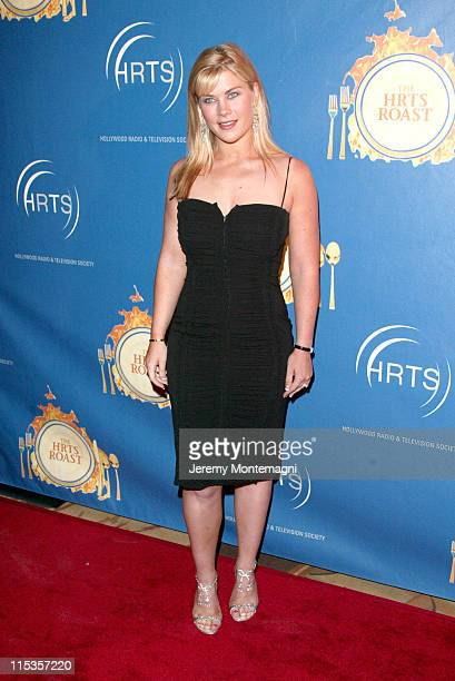 Alison Sweeney during The Hollywood Radio And Television Society's 1st Annual Roast In Honor Of Jeff Zucker at Century Plaza Hotel in Century City CA...