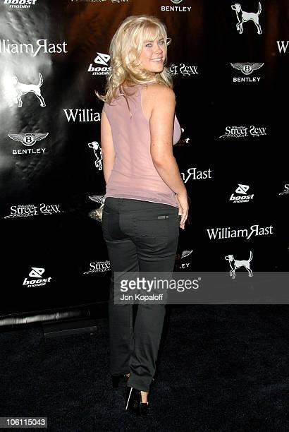 Alison Sweeney during William Rast Presents Street Sexy Spring Summer 07 Arrivals at Social Hollywood in Los Angeles California United States