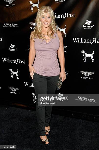 """Alison Sweeney during William Rast Presents """"Street Sexy"""" Spring Summer 07 - Arrivals at Social Hollywood in Los Angeles, California, United States."""