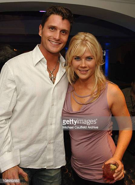 Alison Sweeney from TV show Days of Our Lives with husband David Sanov *Exclusive*