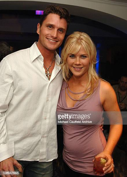 """Alison Sweeney from TV show 'Days of Our Lives' with Reichen Lehmkuhl of """"Amazing Race"""""""