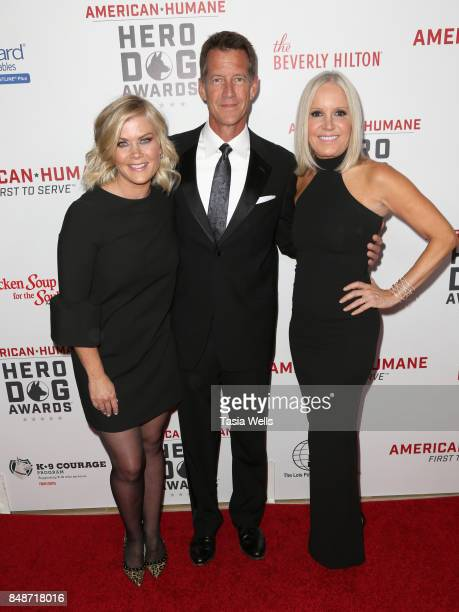 Alison Sweeney James Denton and Michelle Vicary at the 7th Annual American Humane Association Hero Dog Awards at The Beverly Hilton Hotel on...