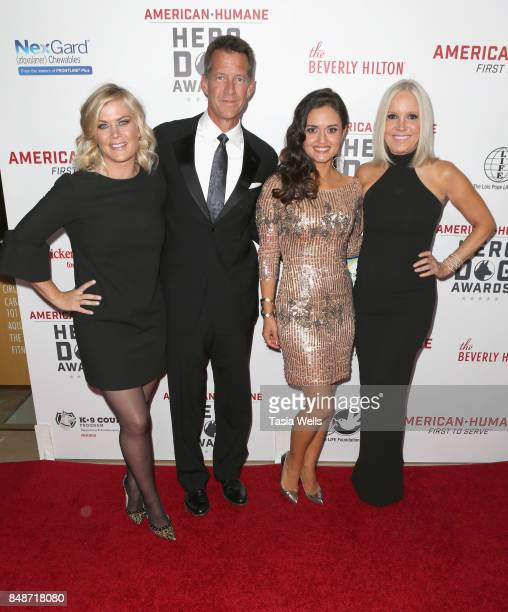 Alison Sweeney James Denton Danica McKellar and Michelle Vicary at the 7th Annual American Humane Association Hero Dog Awards at The Beverly Hilton...