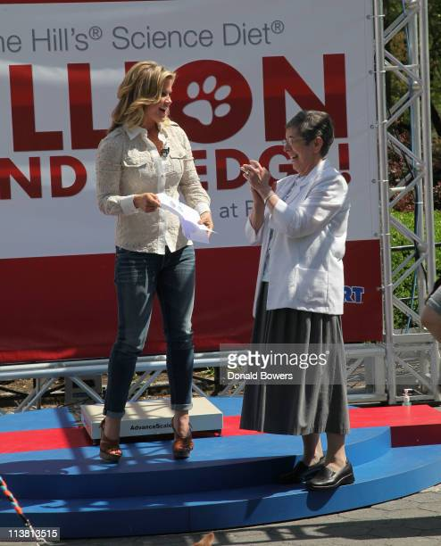 Alison Sweeney speaks with Hill's PetFit Challenge winner Sr Yliana Hernandez Sweeney has partnered with Hill's Pet Nutrition to Launch The Science...