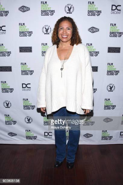 Alison Taylor attends the Film Independent hosts Directors CloseUp Screening of 'A Wrinkle In Time' at Landmark Theatre on February 21 2018 in Los...