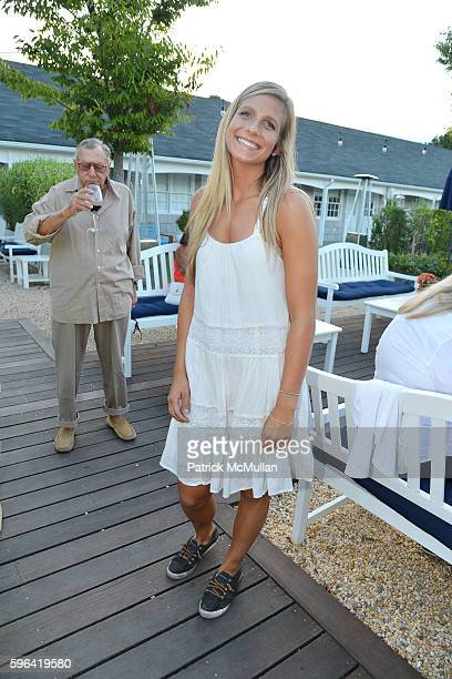 Alison Tyler attends NYC Mission Society Cocktails and Conversations in Southampton at OREYA Hamptons on August 25 2016 in Southampton NY