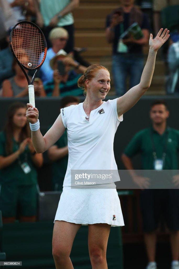 Day Four: The Championships - Wimbledon 2018 : Nachrichtenfoto