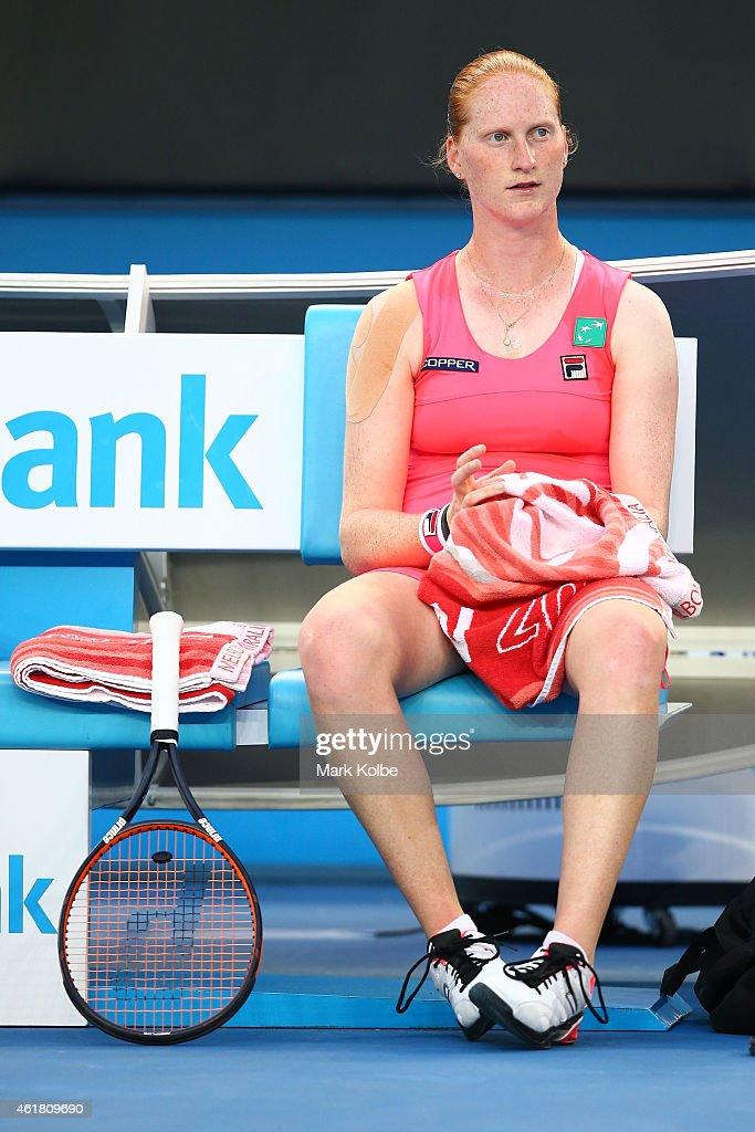 2015 Australian Open - Day 2 : Fotografía de noticias
