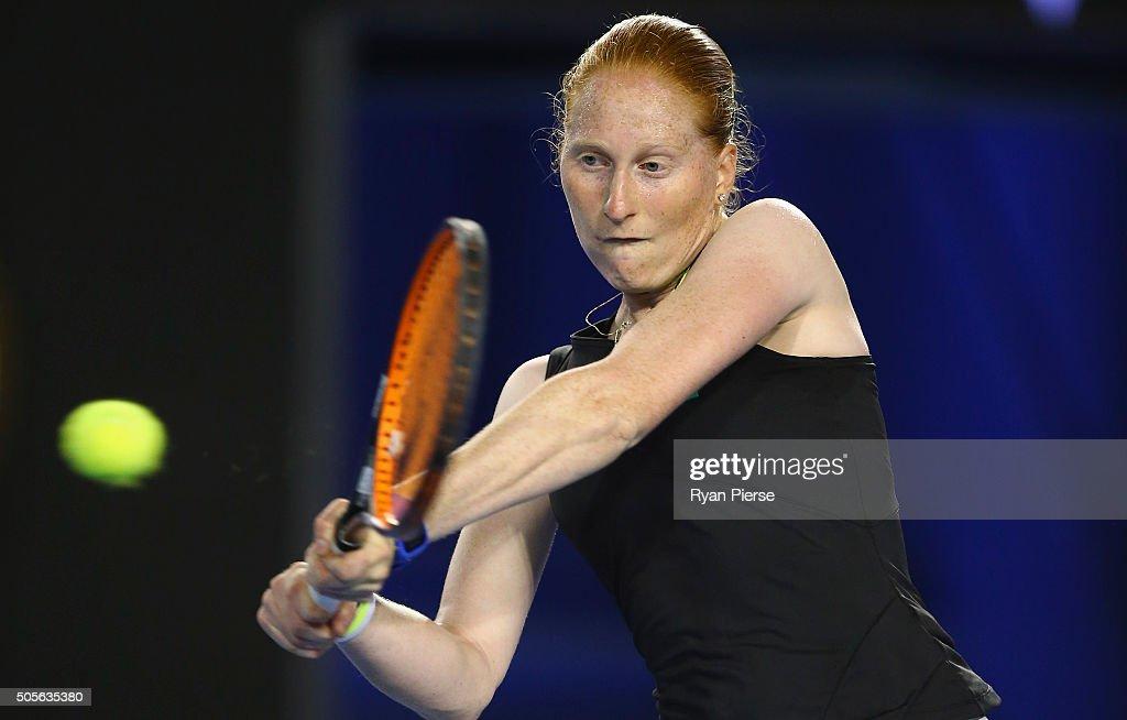2016 Australian Open - Day 2 : Fotografía de noticias