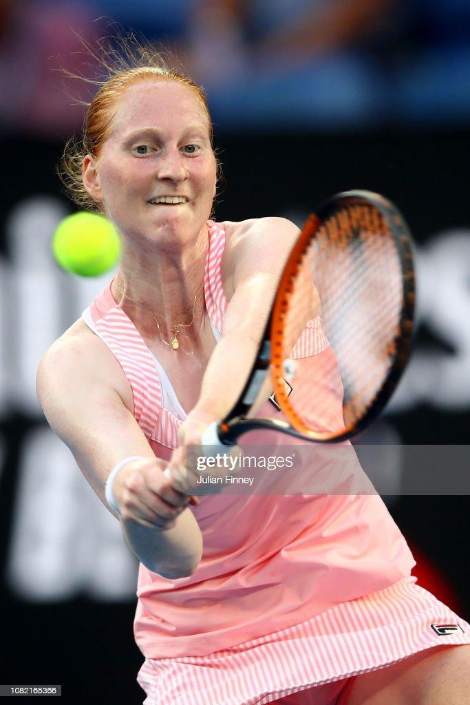 2019 Australian Open - Day 1 : Nachrichtenfoto