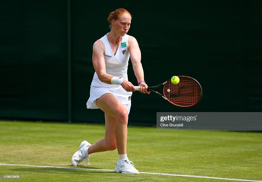 Day One: The Championships - Wimbledon 2015 : Fotografía de noticias