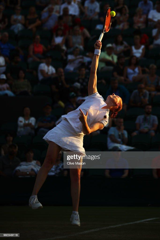 Day Four: The Championships - Wimbledon 2018 : Fotografía de noticias