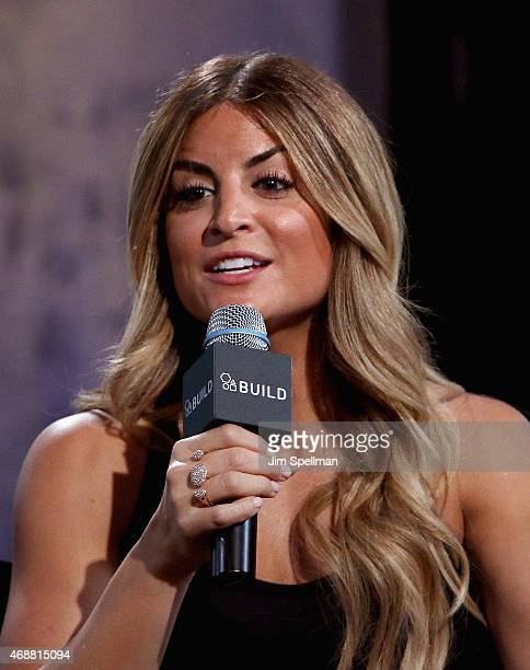 Alison Victoria attends the AOL BUILD Speaker Series at AOL Studios In New York on April 7 2015 in New York City