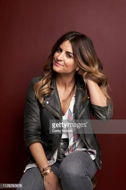 Alison Victoria of HGTV's 'Windy City Rehab' poses for a portrait at The Langham Huntington Pasadena on February 12 2019 in Pasadena California