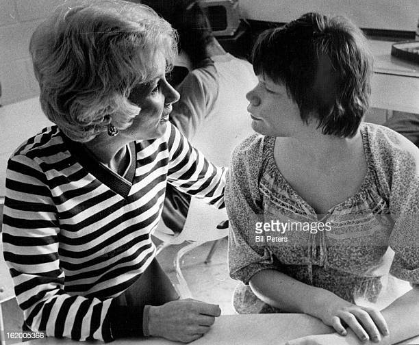 SEP 11 1981 SEP 14 1981 Alison Webb right talks with her mother Charlice at Summit Village The decision to institutionalize their daughter at Ridge...