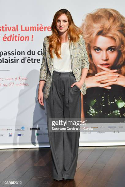 Alison Wheeler attends the Prix Lumiere 2018 ceremony At the 10th Film Festival Lumiere on October 19 2018 in Lyon France