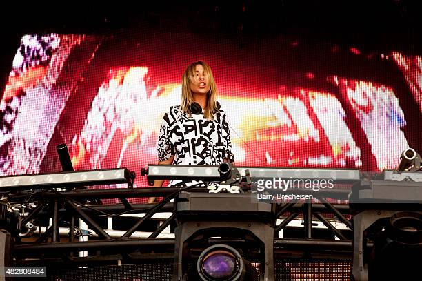 Alison Wonderland performs during 2015 Lollapalooza Day Three at Grant Park on August 2 2015 in Chicago Illinois