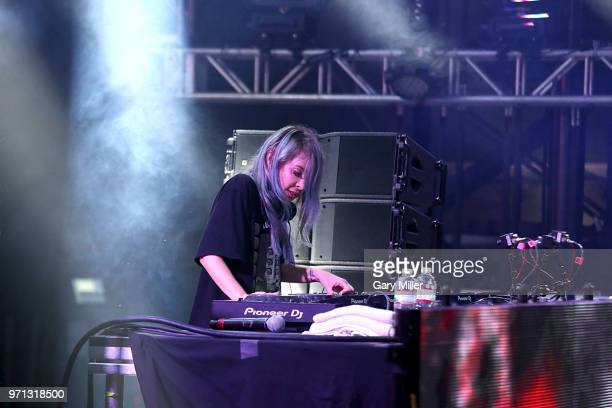 Alison Wonderland performs in concert on day 4 of the Bonnaroo Music Arts Festival on June 10 2018 in Manchester Tennessee