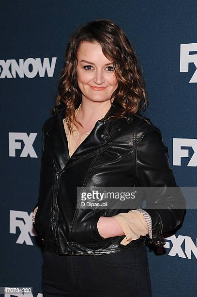 Alison Wright attends the 2015 FX Bowling Party at Lucky Strike on April 22 2015 in New York City