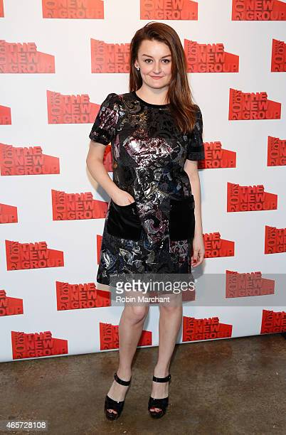 Alison Wright attends The 20th Annual New Group Gala at Tribeca Rooftop on March 9 2015 in New York City