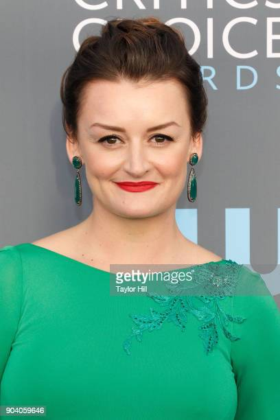 Alison Wright attends the 23rd Annual Critics' Choice Awards at Barker Hangar on January 11 2018 in Santa Monica California