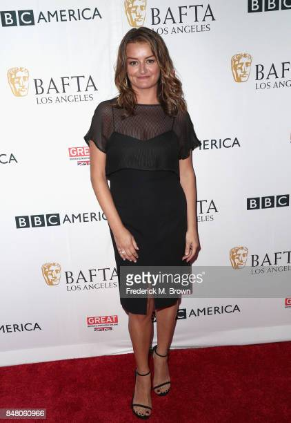 Alison Wright attends the BBC America BAFTA Los Angeles TV Tea Party 2017 at The Beverly Hilton Hotel on September 16 2017 in Beverly Hills California