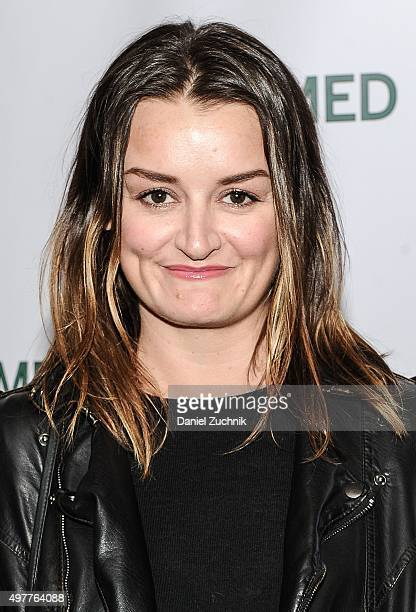 Alison Wright attends the 'Consumed' New York Premiere at AMC Loews 19th Street Theater on November 18 2015 in New York City