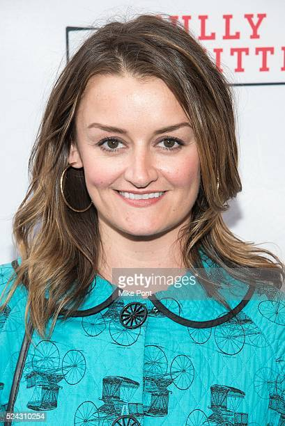 Alison Wright attends the 'Fully Committed' Broadway opening night at Lyceum Theatre on April 25 2016 in New York City