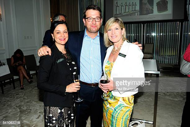 Alissa Cermanski Moylan Connor McEvily and Lisa Brannigan attend AIG Private Client Group and Lifestylist Advisory Celebrate the Launch of Couture...
