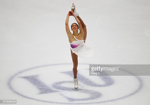 Alissa Czisny of USA skates in the Ladies Short Program during ISU Grand Prix and Junior Grand Prix Final at Beijing Capital Gymnasium on December 10...