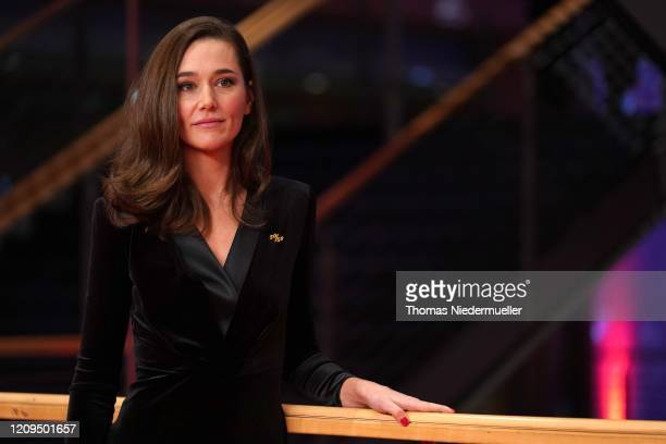 Alissa Jung arrives for the closing ceremony of the 70th Berlinale International Film Festival Berlin at Berlinale Palace on February 29, 2020 in...