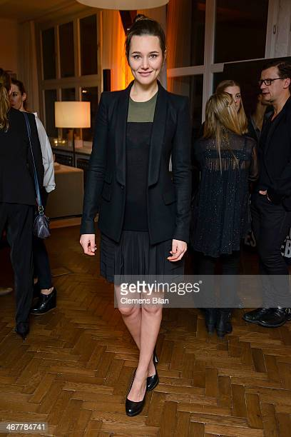 Alissa Jung attends the Diesel & Constantin Film cocktail reception during 64th Berlinale International Film Festival at Soho House on February 7,...