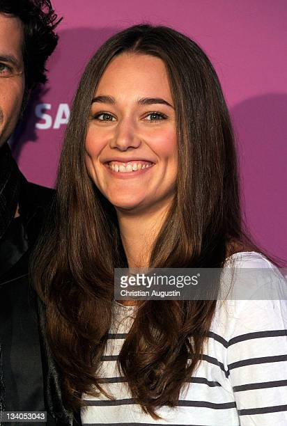 Alissa Jung attends the photocall of SAT1 TV Movie Specials 2012 at Stage Entertainment Headquarter on November 24 2011 in Hamburg Germany