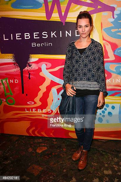 Alissa Jung attens the Liebeskind Berlin Store Opening on May 28 2014 in Berlin Germany