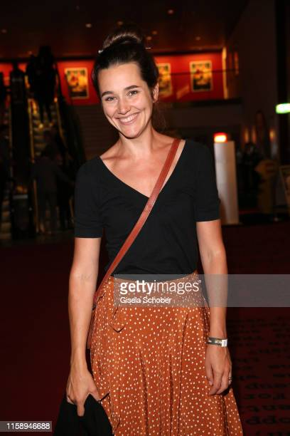 "Alissa Jung during the premiere of ""Once Upon A Time... In Hollywood"" leaving at CineStar on August 1, 2019 in Berlin, Germany."