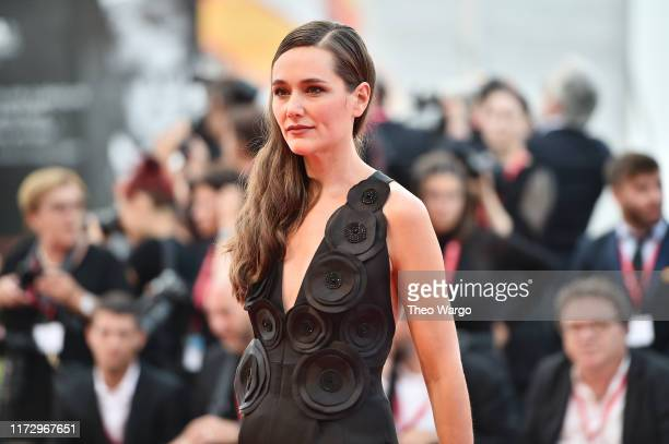 Alissa Jung walks the red carpet ahead of the closing ceremony of the 76th Venice Fil m Festival at Sala Grande on September 07 2019 in Venice Italy