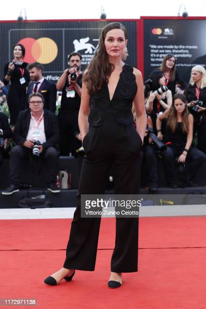 Alissa Jung walks the red carpet ahead of the closing ceremony of the 76th Venice Film Festival at Sala Grande on September 07 2019 in Venice Italy